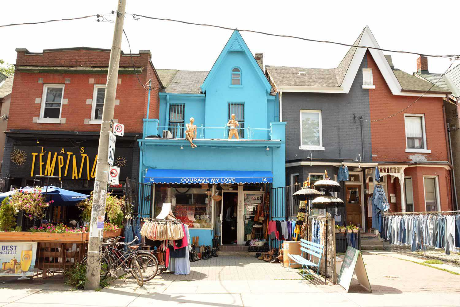 In Toronto's Kensington Market, the tangle of history with the present exists on every block and intersection.