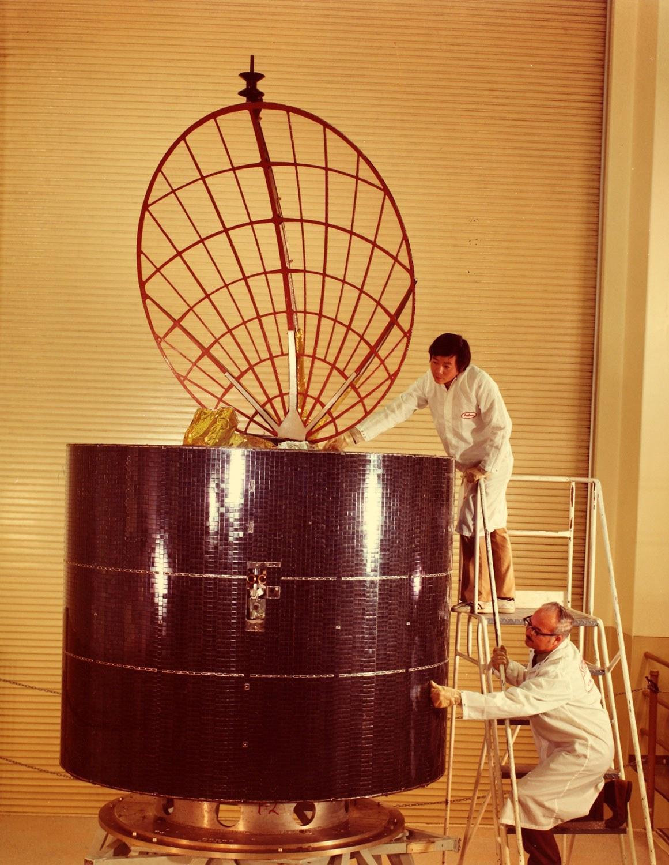 Anik A series communications satellite