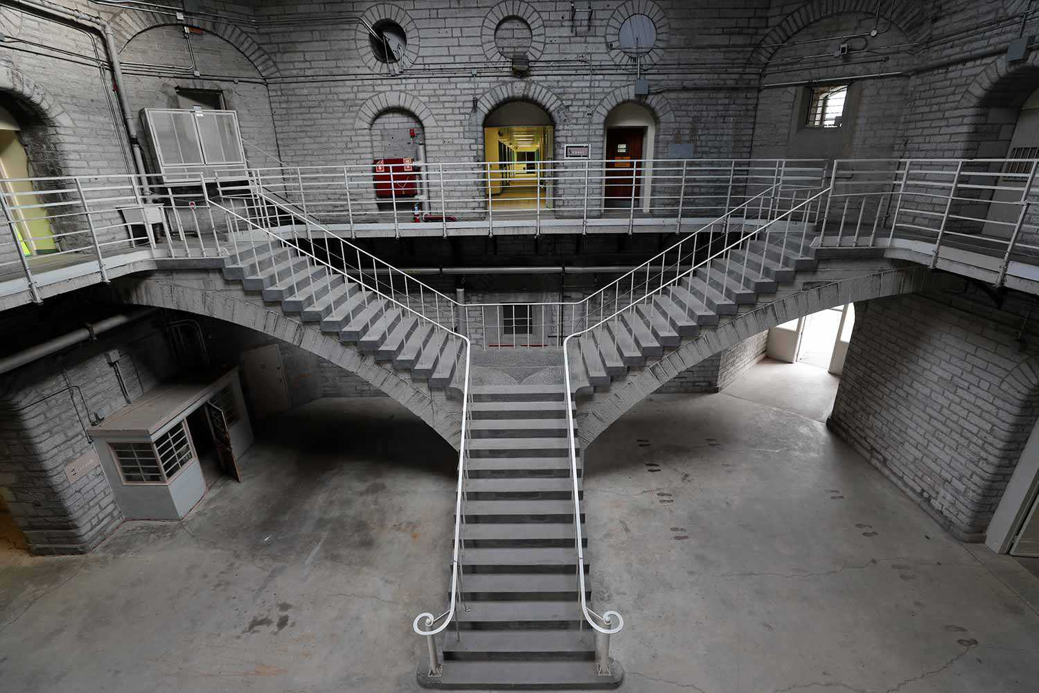 Inside the Kingston Penitentiary (Photo courtesy of the St. Lawrence Parks Commission)