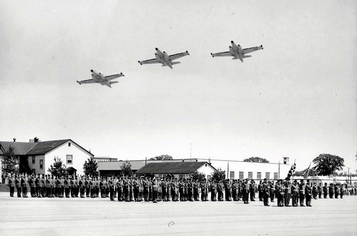 RCAF Station Clinton, Air Force Day 1956