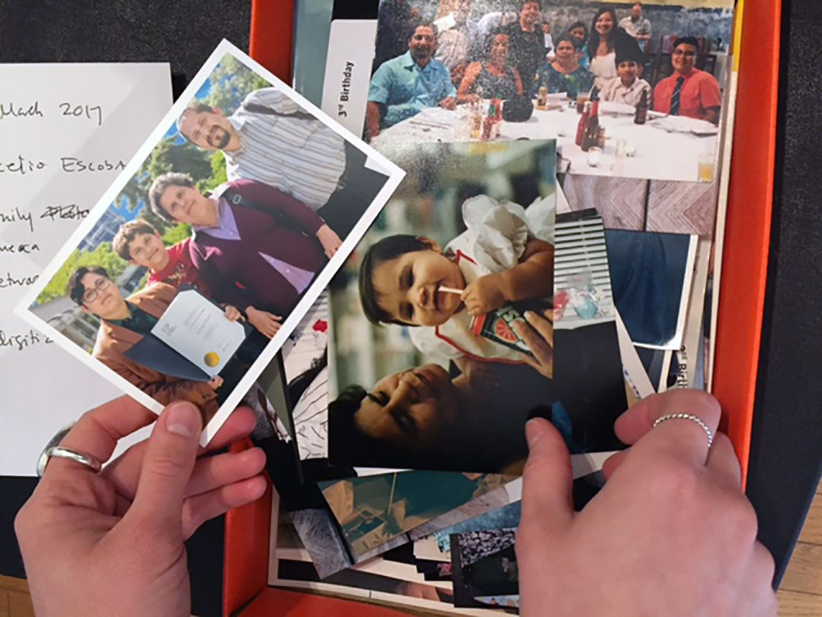 Family photographs (Michael Pereira, Canadian Lesbian and Gay Archives)