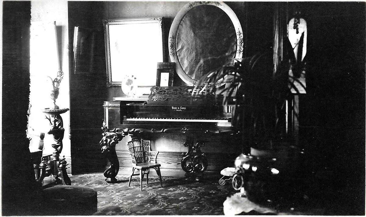 Edwardian home (Photo courtesy of Carl Benn)