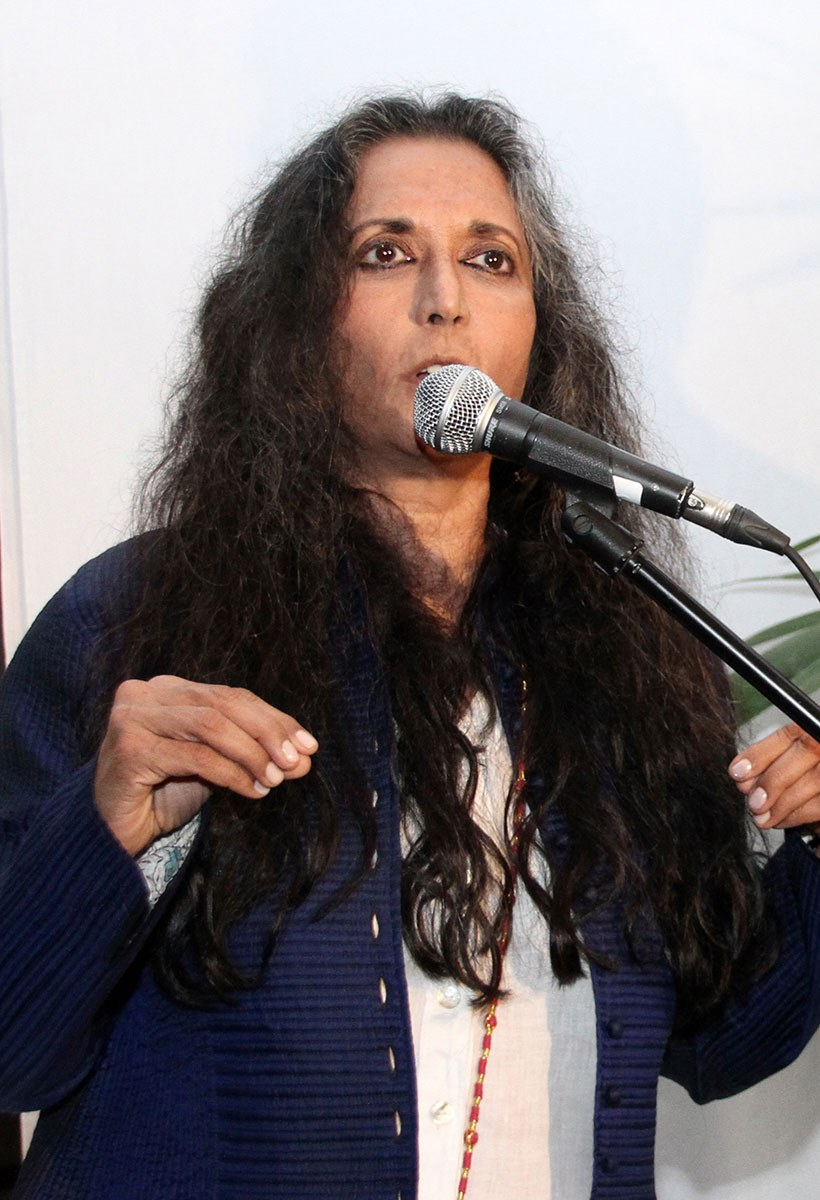 Deepa Mehta at the 7th Annual Canadian Filmmakers' Party, 2012. Photo courtesy of Canadian Film Centre