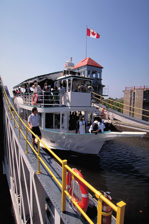 Peterborough Lift Lock National Historic Site of Canada © Ontario Tourism