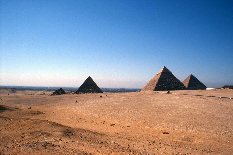 The Pyramids at Giza, Cairo, Egypt. (Photo courtesy of Dena Doroszenko)