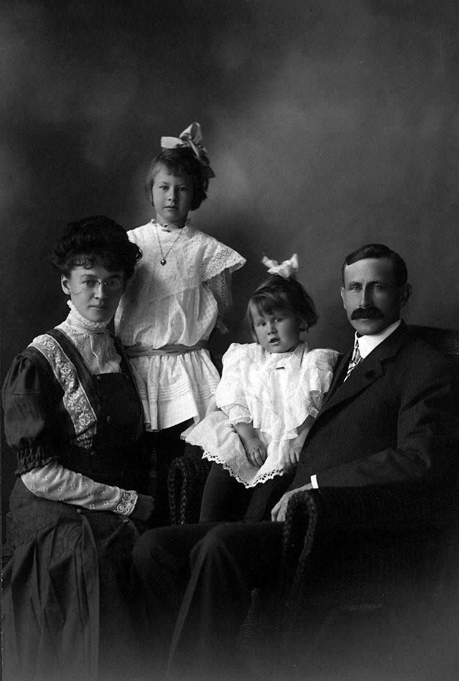 Ashbridge family portrait