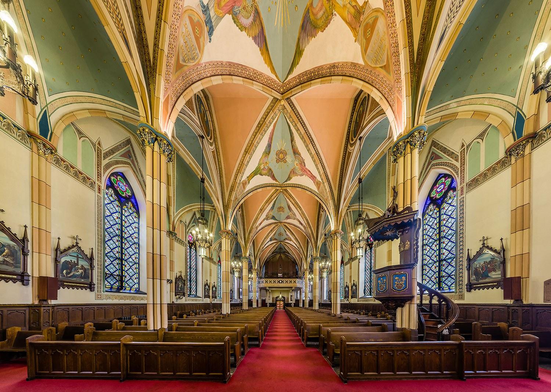 Interior of Assumption Church (Photo courtesy of Kevin Mannara)