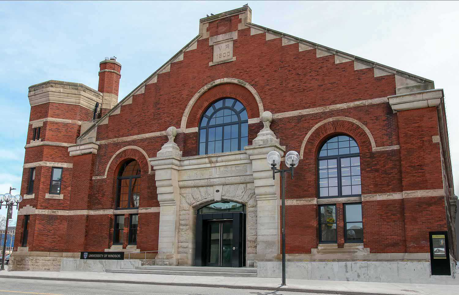 Windsor Armouries, now the School of Creative  Arts (SoCA) at the University of Windsor