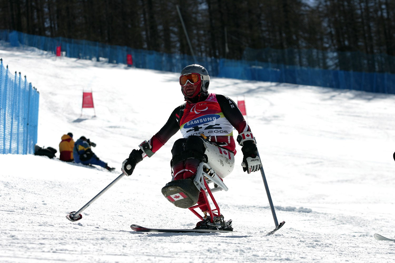 Jeffery Penner of Kitchener, Para-Alpine Skiing, Paralympic Games in Torino, Italy (2006). Photo courtesy of the Canadian Paralympic Committee.