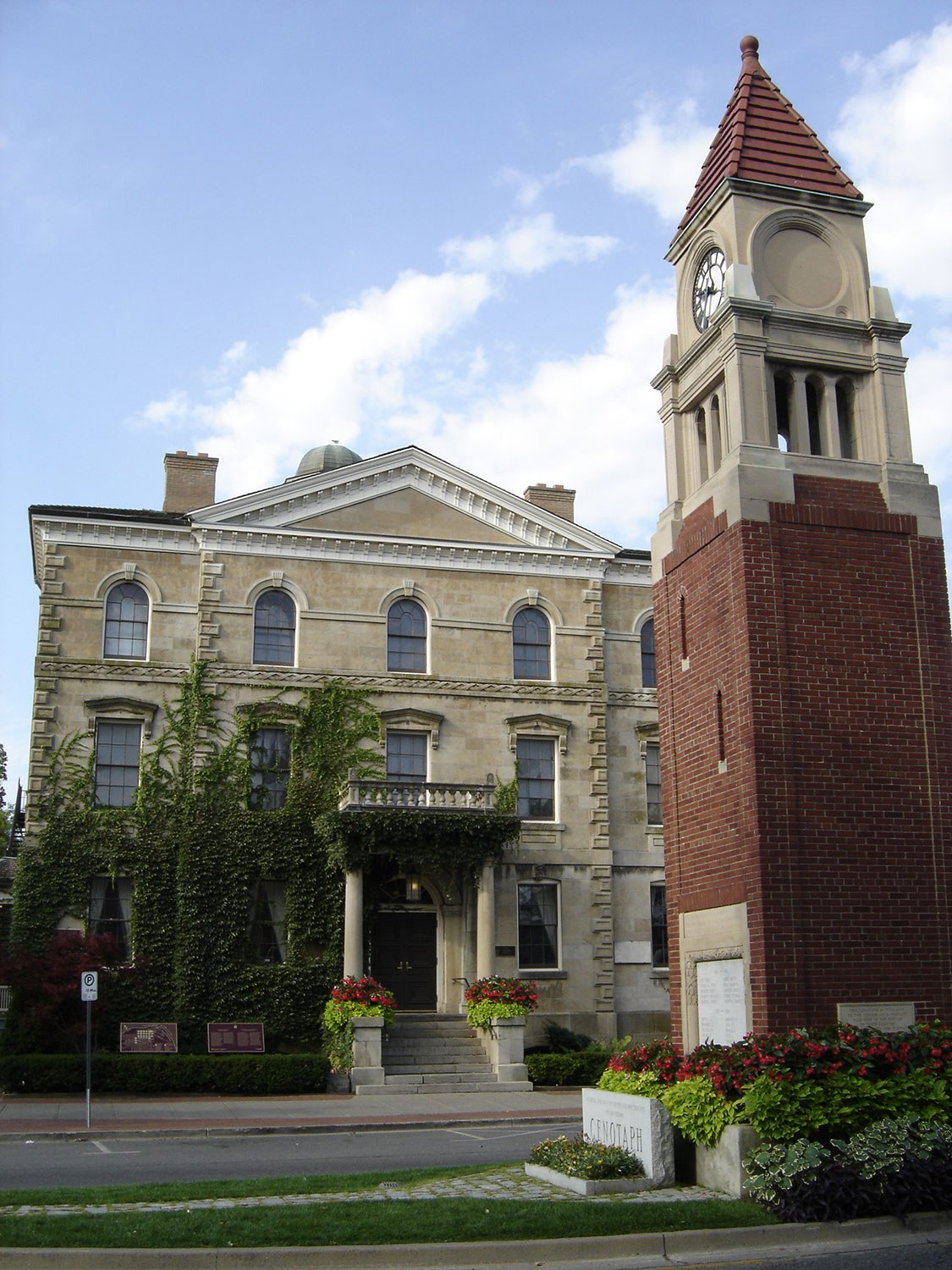 Downtown Niagara-on-the-Lake – a frequently visited heritage conservation district.