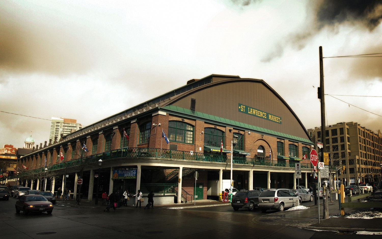 Toronto's St. Lawrence Market was recently named by National Geographic as the number one food market in the world. (Photo from Flickr: Keith Attard)