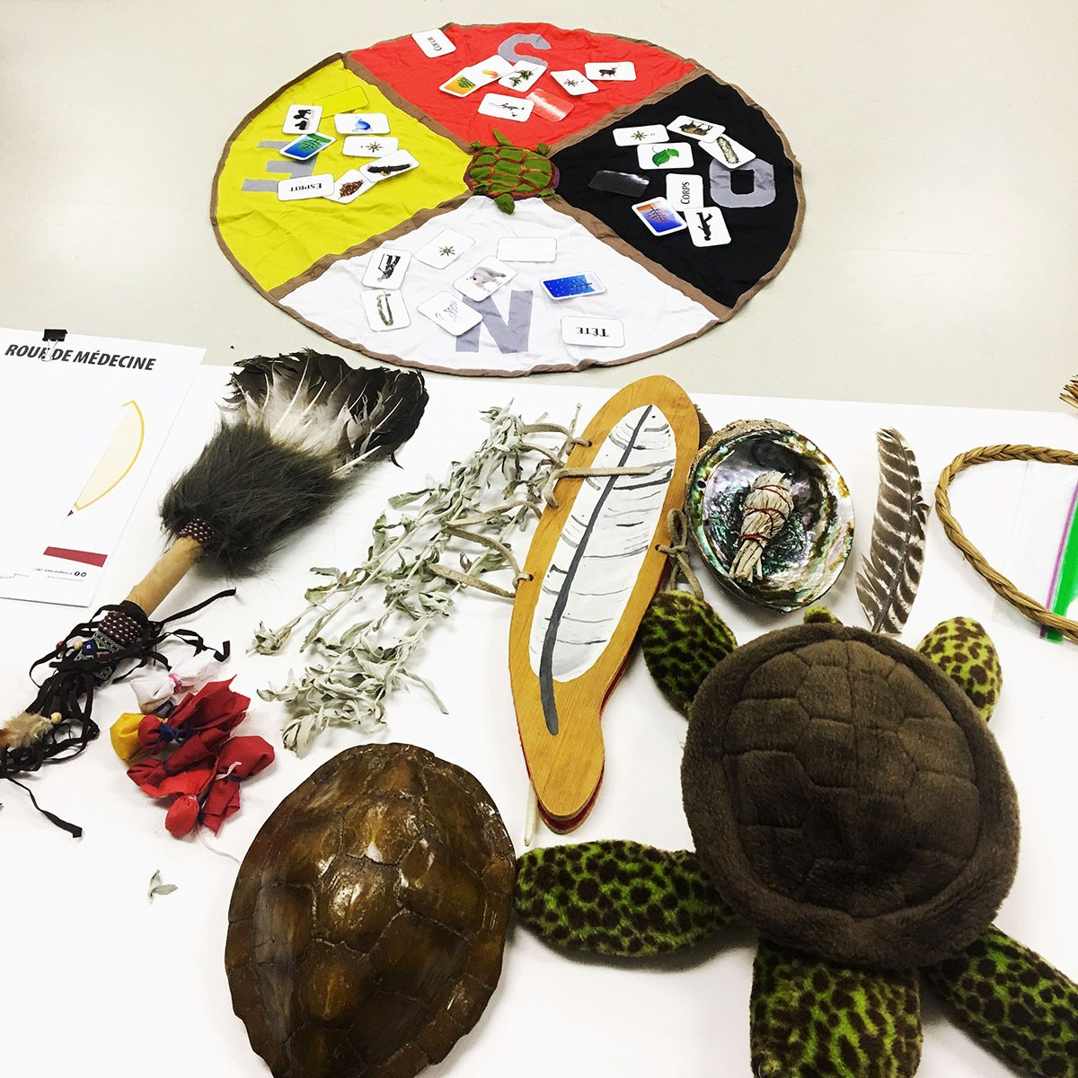 Indigenous artifacts (Photo courtesy of Mélanie-Rose Frappier)