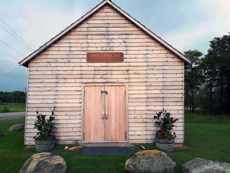 Oro African Methodist Episcopal Church (Credit: Township of Oro-Medonte)