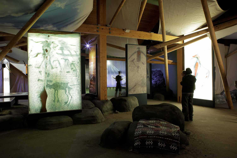 Visitor Centre at Petroglyphs Provincial Park