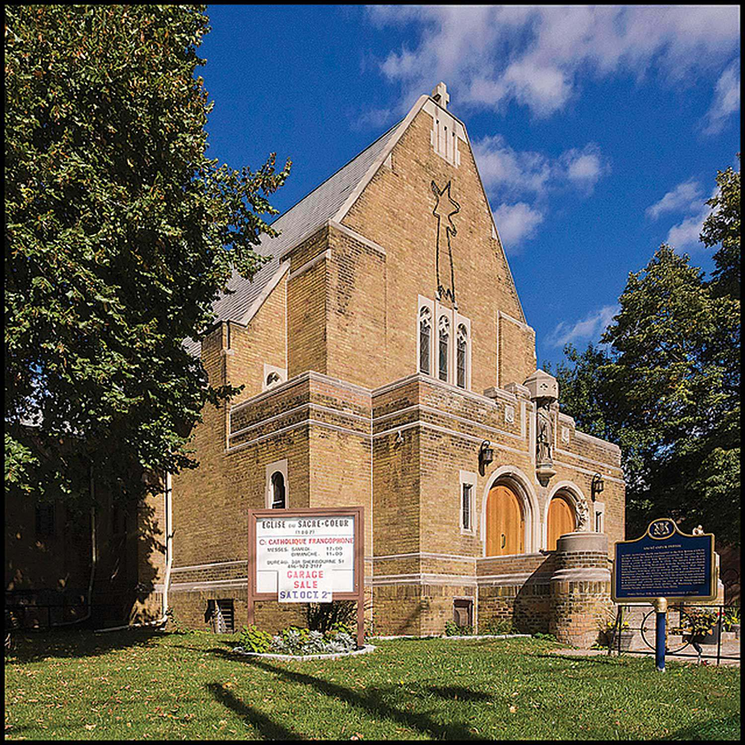 Toronto's Paroisse du Sacré-Cœur is one of dozens of churches across Ontario that assists in keeping the francophone community a viable part of the entire fabric of Ontario.