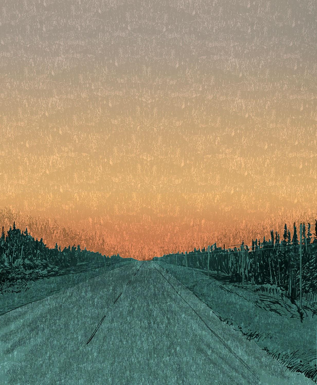 Highway 11, near Hearst, by Todd Stewart