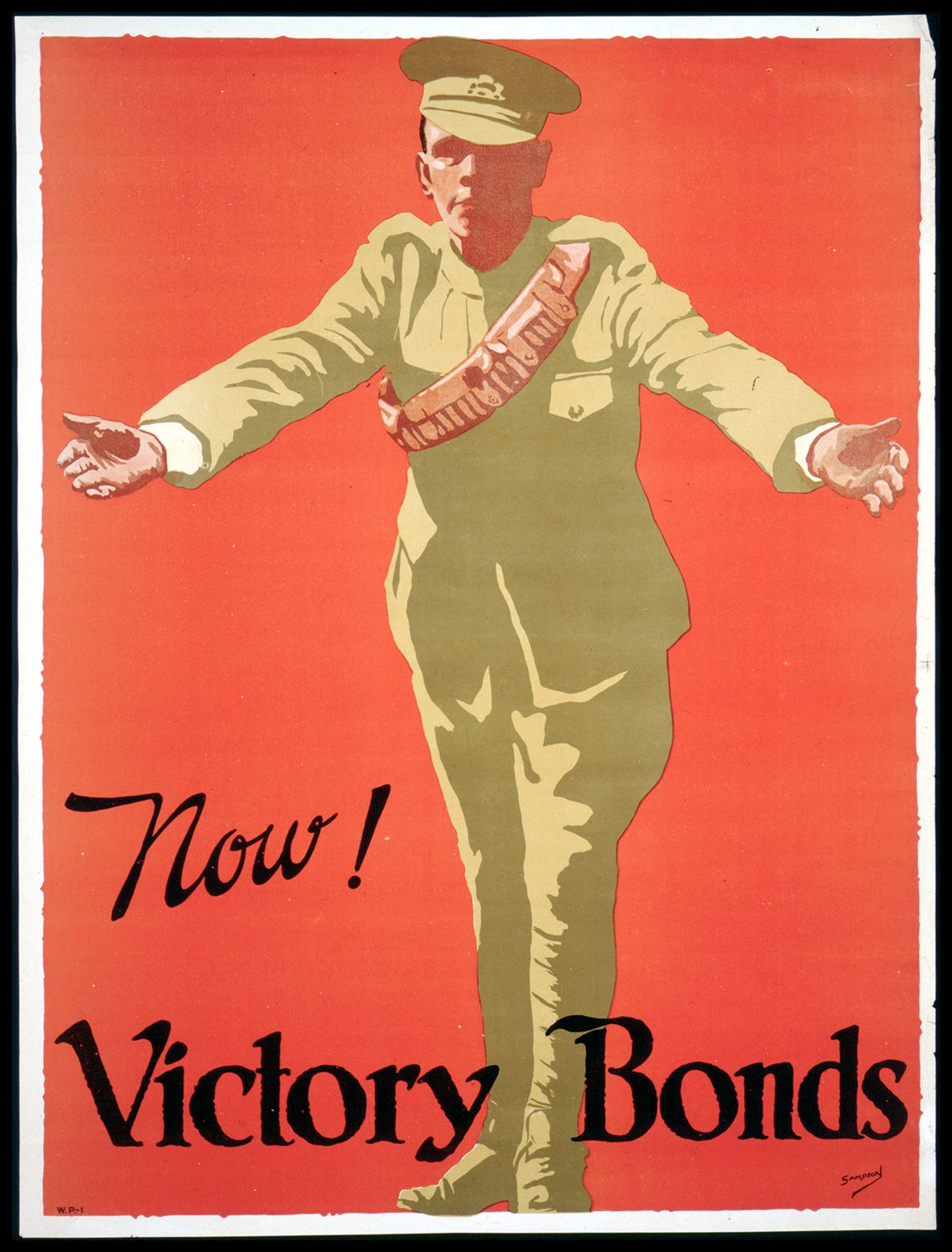 J.E. Sampson. Archives of Ontario War Poster Collection [between 1914 and 1918]. (Archives of Ontario, C 233-2-1-0-296).