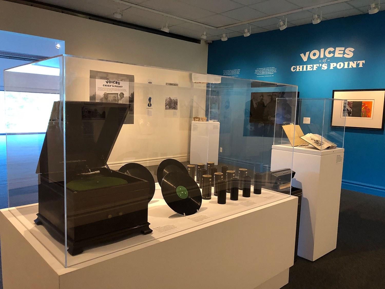 Voices of Chiefs Point exhibit